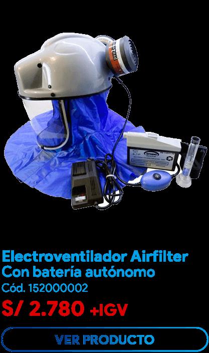 electrorespirador airfilter