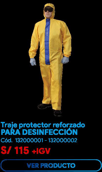 Traje Protector Para Desinfecciones