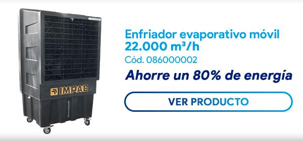 Enfriador Evaporativo Móvil IK 22000