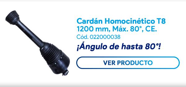 Cardán Homocinético Serie T8
