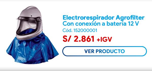 electrorespirador agrofilter