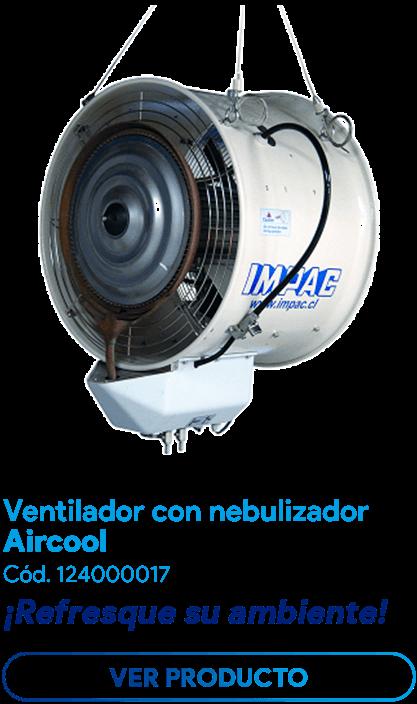 Ventilador con nebulizador Aircool