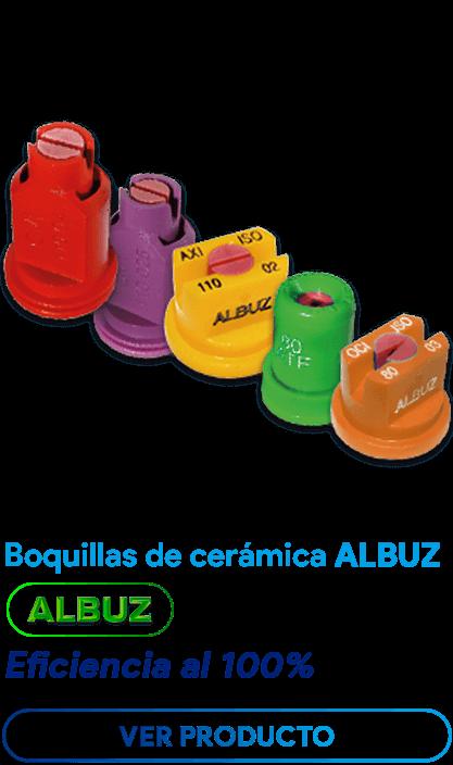 Boquillas de cerámica ALBUZ Impac Peru