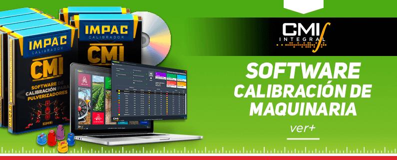CMI calibración de maquinaria agricola